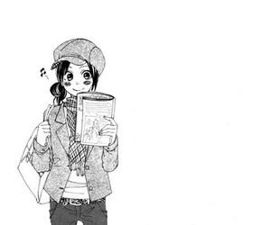 manga and girl image
