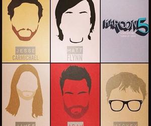 maroon 5, band, and mickey madden image