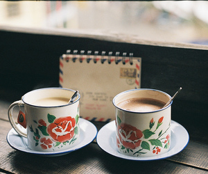 old, photography, and cup image