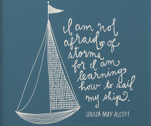 quote, sail, and ship image