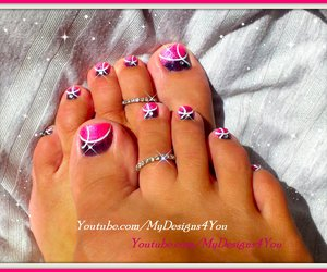 pedicure, toenails, and toes image