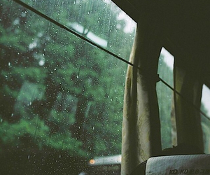 rain, bus, and indie image
