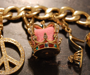 bracelet, gold, and juicy image