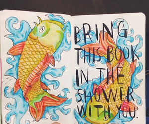 fish, shower, and wreck this journal image