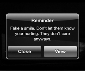 fake, quote, and reminder image