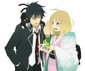 rin, blue exorcist, and shiemi image