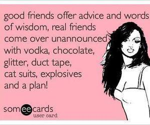 friendship, funny, and funny quotes image
