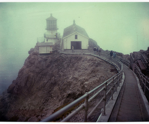 sea, stairs, and film image