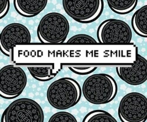 oreo, food, and smile image