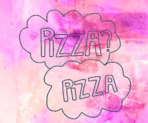 pizza, wallpaper, and love image