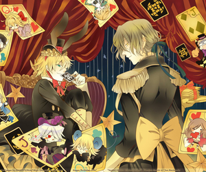 pandora hearts, anime, and Oz image