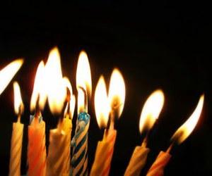 happy birthday, nice, and velas image