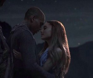 chris brown, ariana grande, and don't be gone too long image