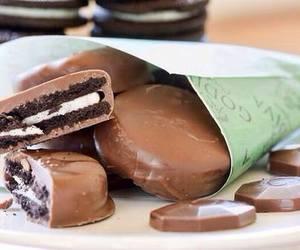 chocolate, food, and oreo image
