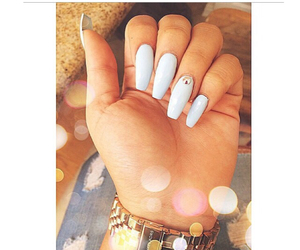 acrylic, nails, and pretty image