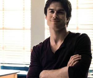 ian somerhalder, tvd, and damon image