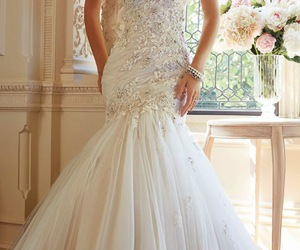 wedding dress and white image