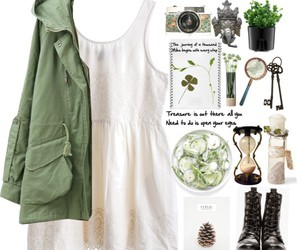 outfit, Polyvore, and dress image