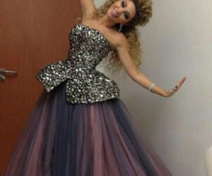 myriam fares and dress image