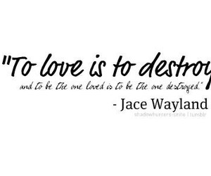 quotes, jace wayland, and love image