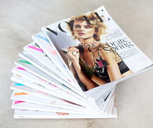 vogue, magazine, and fashion image