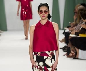 Carolina Herrera, catwalk, and girl image