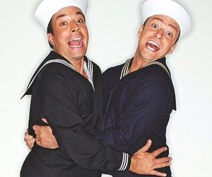 jimmy fallon, justin timberlake, and sailors image