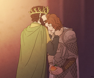 renly baratheon and loras tyrell image