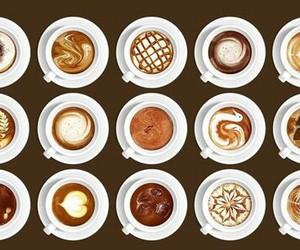 beautiful, coffee, and cream image
