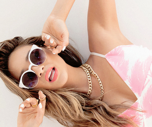 pink, sunglasses, and tumblr image