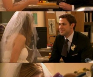 jim, married, and pam image