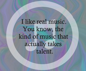 music, talent, and real image