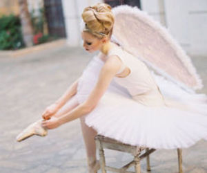 ballet, ballerina, and angel image
