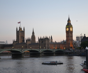 Big Ben, evening, and Great Britain image