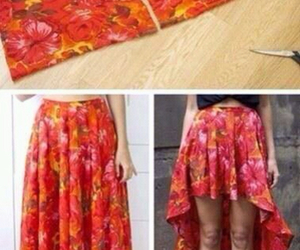 diy, skirt, and tutorial image