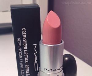 lipstick, mac, and cosmetics image