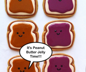 Cookies, adoreable, and hearts image