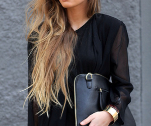 bag, black, and brown image