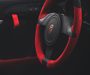 car, black, and red image