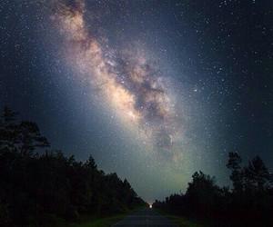 stars, sky, and nature image