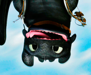 how to train your dragon and toothless image