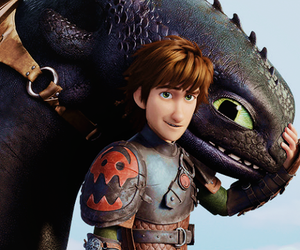 astrid, hiccup, and stormfly image