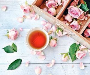 rose and tea image