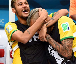 neymar, dani alves, and brazil image
