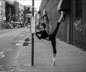 ballet and black image