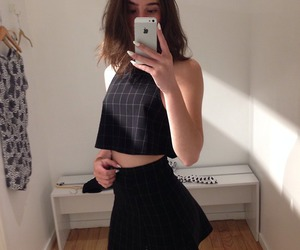 american apparel, black, and soft grunge image
