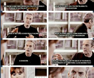 black, doctor who, and listen image