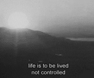 life, black and white, and live image