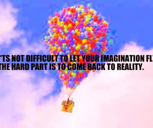 balloons, imagination, and up image