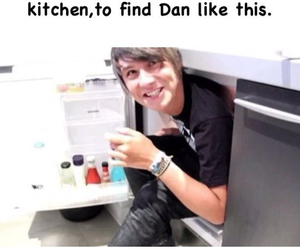 funny, danisnotonfire, and kitchen image